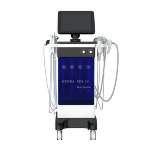 2020New Version !!! TopQuality 11 in 1 Wasser Facial Spa Oxygen Peel Skin Care-Dermabrasion Maschine