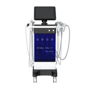 2020New Versione !!! standard qualitativi e 11 in 1 Acqua viso Spa di ossigeno Peel Cura della pelle dermoabrasione macchina