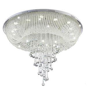 Nuovo lampadario di cristallo moderno per soffitto Soggiorno Lampada di cristallo Lampada di lusso per la casa Illuminazione a LED Lustres De Cristal