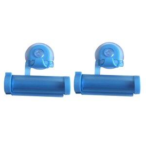 2pcs Durable Toothpaste Tube Squeezer Wringer Roller Dispenser