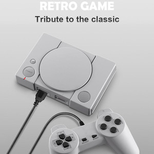 Classic Game Console 8-bit PS1 Mini Home 620 Action Game Enthusiast Entertainment System Retro Double Battle Game Console