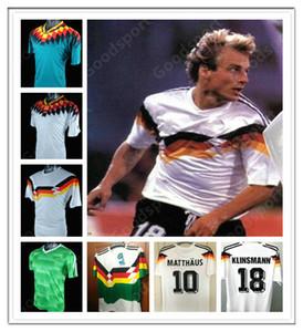 OZIER 90 96 94 14 04 Germany Retro Soccer Jersey 18 KLINSMANN Matthaus Mueller Muller Effenberg hot Kahn Deutschland Ballack Football Klose
