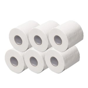 6PCS Hot Sale White Hollow Web For Home Bathroom Living Room Hygienic Clean Roll Paper Cheap High Quality Kitchen Tools New
