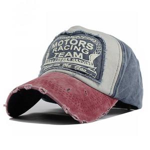 Wholesale Spring Cotton Baseball Cap Casquette Snapback Hat Summer Cap Hip Hop Fitted Cap Hats For Men Women Grinding Multicolor