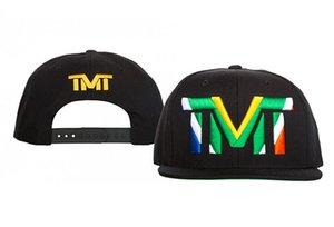 New Hot vender TMT Snapback Hat Boy menina Cap Moda Hip Hop snapbacks chapéus de basebol Popular Mens Sports ajustáveis Chapéus Homens Mulheres