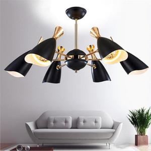 plafonniers vintage nordic LED pendentif lampadaire moderne élégant creative foyer salon salle à manger pendentif lumière maison éclairage