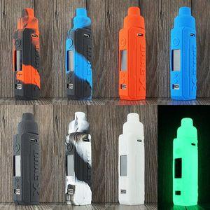 Перетащите X силиконовый чехол крышка случая кожи Красочные резиновые рукава VOOPOO Drag X Mod Силиконовые защитные чехлы DHL бесплатно