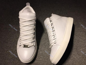 xshfbcl Wholesale new leather men Design luxe casual shoes arena colors low top shoes High top casual shoes size 36-45