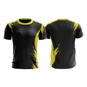 T-shirt da uomo / donna manica corta manica corta pallavolo squadra college uniformi magliette di alta qualità traspirante personalizzato t-shirt da badminton