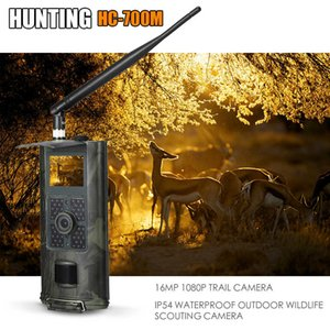 Cellular Mobile Wildlife Trail Hunting Camera Photo Traps Surveillance Cameras MMS SMS 2G SMTP Night Vision HC700M Tracking T191016