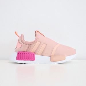 2020 Superstar Laceless Rose Entraîneur enfants Chaussures de course fille garçon enfant jeunesse du sport Sneaker taille 23-35