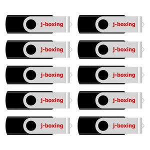 Schwarz 10PCS 16GB OTG USB 2.0 Flash Drive Rotating Dual-USB-Stick Memory Stick Pen Speicher für Computer-Android Smartphone Tablet