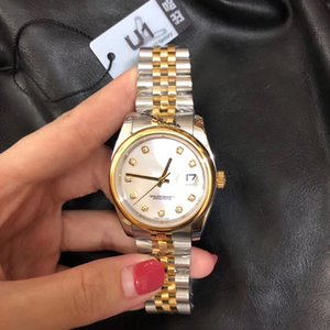 2020 Top V3 mujeres de los hombres del reloj de 36 mm Tamaño mediano Datejust inoxidable mecánico automático del zafiro de cristal Reloj de mujer de cuarzo