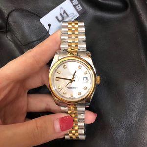 2020 Top V3 Men's Women Wristwatch 36mm Medium Size datejust Automatic Mechanical Sapphire Glass Stainless Mens Wristwatch Female Watch