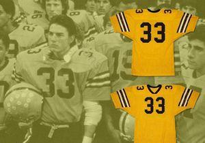 TOM CRUISE STEFEN DJORDJEVIC 33 AMPIPE FOOTBALL JERSEY Mens Stitched Jerseys Shirts Size S-XXXL Free Shipping