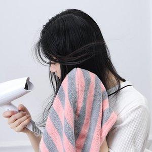 Microfibra toalha de banho Cabelo seco de secagem rápida Lady toalha de banho chapéu touca de banho macio para homem senhora Turban Envoltório principal banho Tools