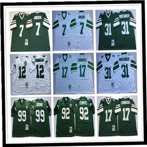 Filadelfia retro Randall Cunningham camiseta de fútbol Reggie White Ron Jaworski Harold Carmichael Jerome Borwn JOYNER Hombres retroceso jerseys