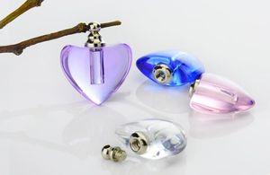 20pieces 19x19mm arroz True Heart frasco re-selável pingente medalho cinzas urna Perfume vidro Jóia arte arroz pendente