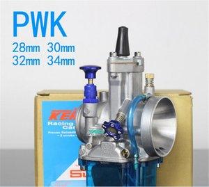 Nouveau carburateur haute performance moto KEIHIN PWK 28mm 30 32 34mm Carburateur Racing Pièces Scooters Dirt Bike VTT avec Power Jet à 400cc