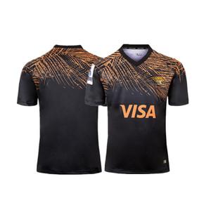 2019 NUEVA ZELANDA Super RUGBY JAGUARES HOME RUGBY JERSEY tamaño S-XXXL Rugby League camiseta de la camiseta de calidad superior envío gratis
