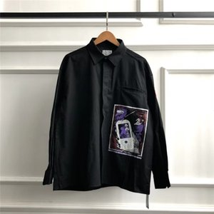 قمصان الكهوف للرجال النساء 1: 1 أفضل نوعية أزياء عارضة Oversize C. E Cav Empt قمصان CAV EMPT T200417