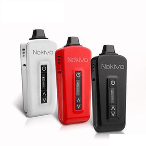 Airis Nokiva erva seca bateria vaporizador Vape Herbal caneta 2200mAh Ceramic Donut E Cigarettes Touch Screen display OLED Temperature Control