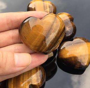 différents types de roche de cristal de quartz naturel coeur belle décoration de la maison cadeau de guérison de cristal de quartz