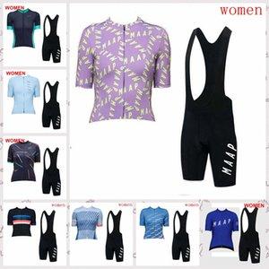 Team femminile MAAP ciclismo maniche corte Maglie Pantaloncini mette in mostra gli abiti estivi bici della strada indossare F61609