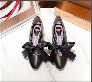 Chaussures habillées à talons moyens pour femmes, chaussures à talons en cuir véritable
