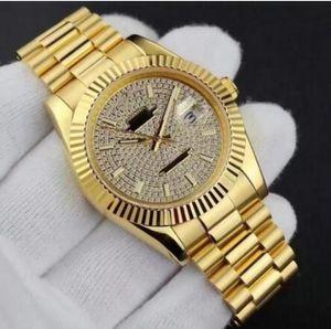 De lujo nuevo y elegante de la moda reloj estrellado producto de primera serie estrella de los hombres totalmente automático dial grande los 41MM diámetro de reloj de los hombres con la caja 2