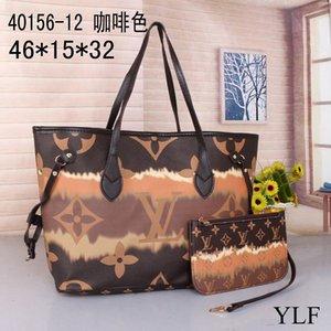 2020 Новый Бесплатная доставка 2 шт комплект Tote сумки сцепления мешки плеча Messenger женщин Schoolbag HOTLVLOUISVUITTON 0000