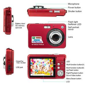 1pcs 18M Pixels Children Digital Camera 2.7 inch Display Card Style Digital Photo Video Record Camera HD Zooming Smart Automatic Camera