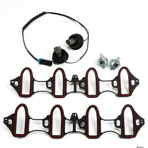 Knock Sensor Harness Intake Manifold Gasket Kit Set 5pc for Silverado Sierra New USA STOCK