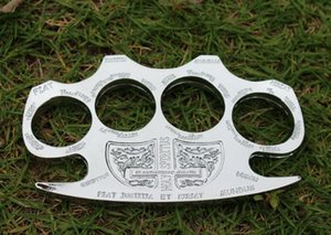 Hot Selling HELL DETECTIVE CONSTANTINE BRASS KNUCKLE DUSTERS Brass Knuckles Tactical Survival Self Defense EDC tools Free shippiing