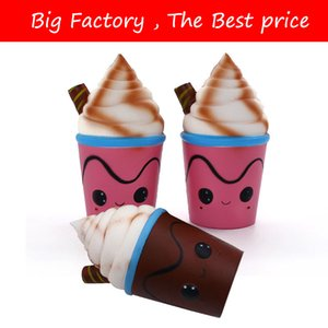Galaxia Starbucks Ice Cream Squishy Slow Rising Cute Jumbo Strap Squeeze Pan Perfumado Pastel de Juguete de Regalo para Niños Divertido
