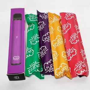 Huka Puff Plus-Einweg-Pod Gerät aktualisiert Bar 550mAh E Zigarette Vape Pen 800 Puffs 3,2 ml-Patronen E CIGS Kit
