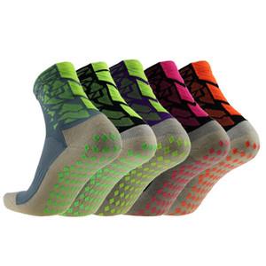 Tutomptu 5 pares Nylon Homens Mulheres antiderrapante Futebol Socks respirável Outdoor Tennis Badminton Futebol Socks alta qualidade