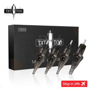 Agulha de tatuagem cartucho de agulhas de tatuagem RL RS RM M1 descartável Esterilizado segurança para o cartucho Máquinas Grips