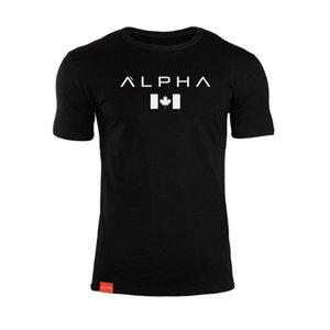 2019 Kas Spor Kardeşler Bahar ve Yaz erkek Spor Koşu Eğitim Saf Pamuk Elastik Kısa Kollu T-shirt spor fshirt