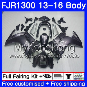Kit para YAMAHA FJR1300 A FJR1300A FJR1300 13 16 247HM.5 FJR-1300A FJR 1300 13 14 15 16 FJR-1300 2013 2014 2015 2016 Color de fábrica