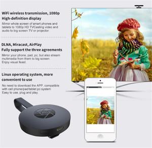 Suporte plug G2 sem fio HDMI Dongle TV Receiver vara Miracast 2.4G HD 1080p TV Airplay DLNA Nuvem Reprodução WiFi exibição Chromecast