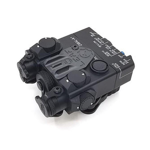 التكتيكية DBAL-A2 AN / PEQ-15A الأشعة تحت الحمراء IR الصيد الأحمر البصر بالليزر تأتي مع Reomote تبديل بندقية IR إضاءة
