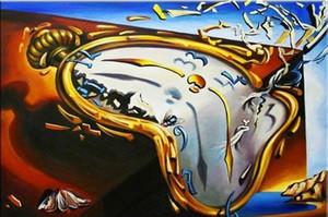 Сальвадор Дали Мягкая Часы Home Decor расписанную HD картин Печать холст, масло Wall Art Pictures 191202