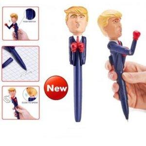 المرشح دونالد ترامب الملاكمة القلم هيلاري الرئيس أقلام أمريكا العظمى USA ذكي لعب القلم Nolvety عناصر CCA10916 30PCS