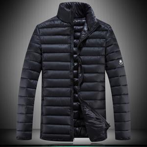 Parka Men Extra Plus Size Giacca invernale da uomo Cappotto imbottito da uomo Cappotto imbottito uomo Trapuntato Giacche Solid Parky gonfiabile 6XL 7XL 8XL