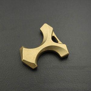 10mm Handmade Brass Herringbone Portachiavi Knuckles FAI DA TE Ciondolo Uomini Gioca Glass Breaker Accessori Esterni Di Sopravvivenza Autodifesa Strumento EDC