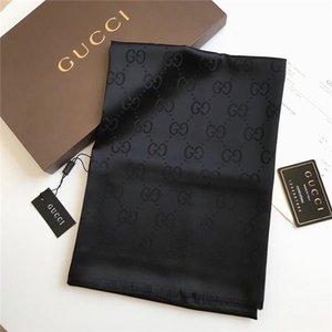 Moda primavera-estate sciarpa di seta Womens Fashion signore stampa elegante classica Wrap Sciarpe Dimensioni 180x90cm regalo