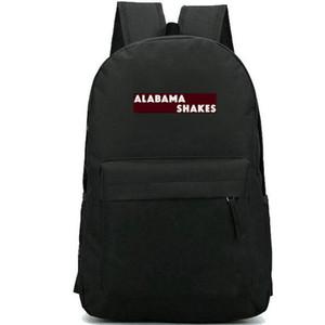 Alabama Shakes-Rucksack Zukünftige Menschen Tagesrucksack Rock Print Schultasche Band Freizeitrucksack Sportschultasche Outdoor-Tagesrucksack