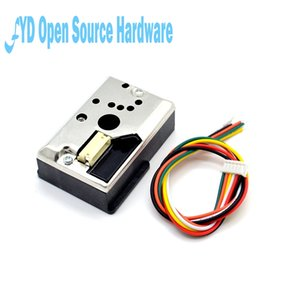 ensors 21014AU0F Compact Optical Dust Sensor Compatible GP2Y1010AU0F GP2Y1010AUOF Smoke Particle Sensor With Cable Sensors Electronic Com...