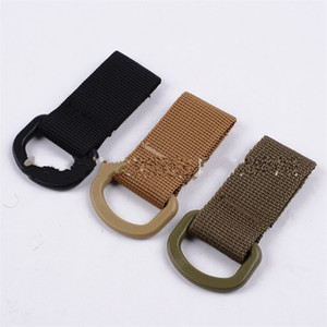 Outdoor Tactics Hang Button Multi Function Mountaineering Buckle Nylon Webbing Small Buckles Bag Hook Portable Green 1 6gl C1